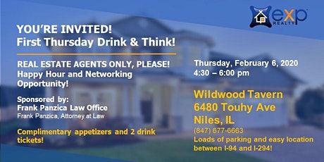 FIRST THURSDAY THINK & DRINK! tickets