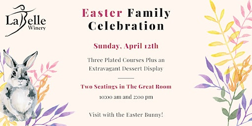 Easter Family Celebration at LaBelle Winery