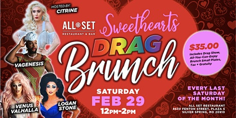 ALL SET DRAG BRUNCH tickets
