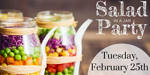 Salad in A Jar Meal Prep Party - Free!