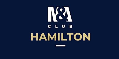 M&A Club Hamilton : Meeting February 19th, 2020 tickets