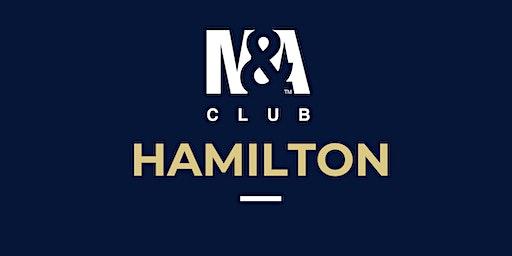 M&A Club Hamilton : Meeting February 19th, 2020