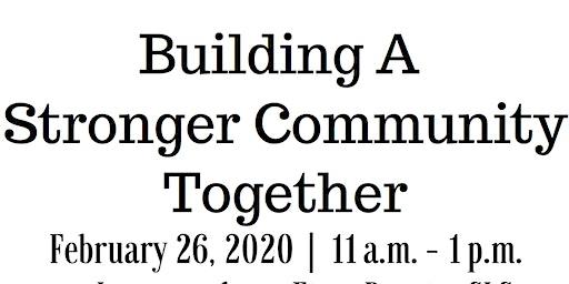 Community Event: Building a Stronger Community
