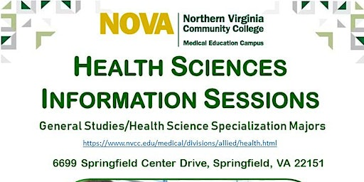 Health Sciences Information Session