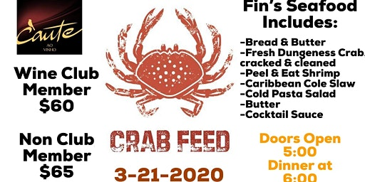 Cante's 2nd Annual Crab Feed