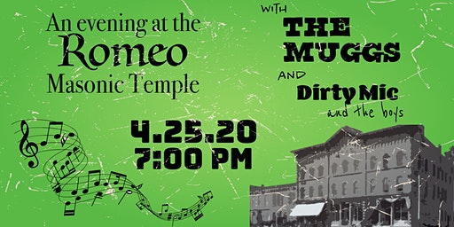 The Muggs and Dirty Mic and the Boys LIVE at the Romeo Masonic Temple!