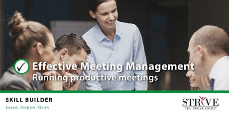 Effective Meeting Management tickets