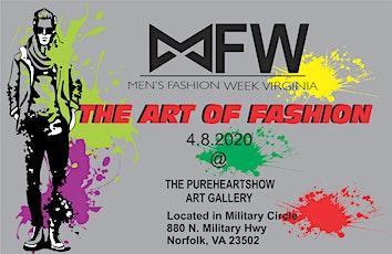 Men's Fashion Week Virginia Present The ART OF FASHION tickets