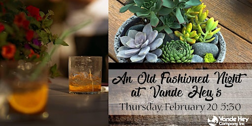 An Old Fashioned Night at Vande Hey's