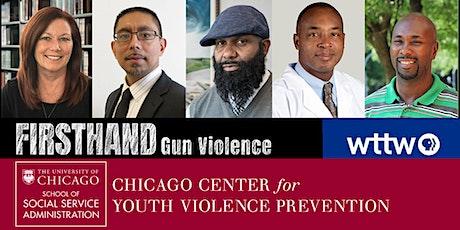 Interrupting Gun Violence in Chicago tickets