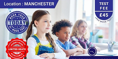 11+ Mock Test - Manchester tickets