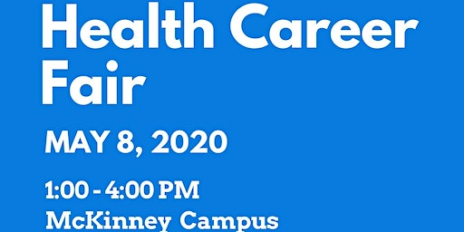 Health Career Fair & Expo (Employers & Vendors), presented by Collin College CE Health Sciences