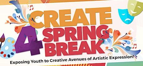 Create For Spring Break 2020 tickets
