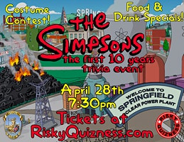 The Simpsons: The 1st 10 Years Trivia Event!