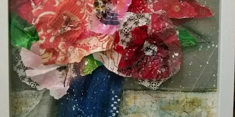 Mixed Media Flower Canvas Workshop tickets