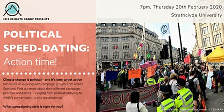 Political Speed Dating - Action Time! tickets
