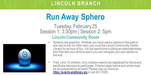 Runaway Sphero! (LIN)