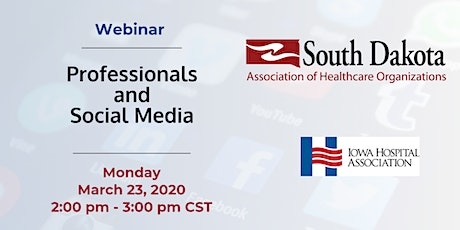 Webinar: Professionals and Social Media tickets
