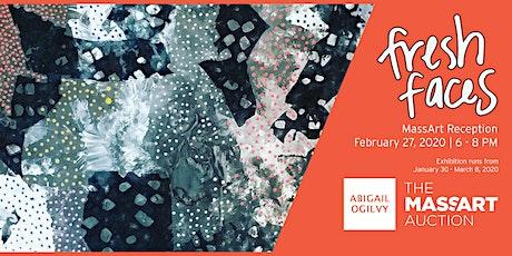 Fresh Faces: MassArt Reception at Abigail Ogilvy Gallery tickets