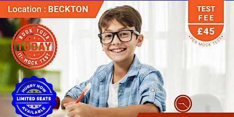 11+ Mock Test - Beckton tickets