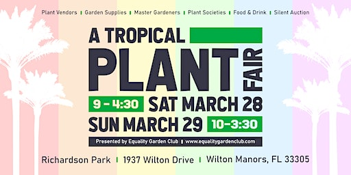 A Tropical Plant Fair 2020