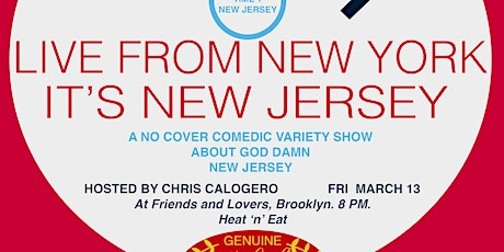 Live From New York It's New Jersey tickets