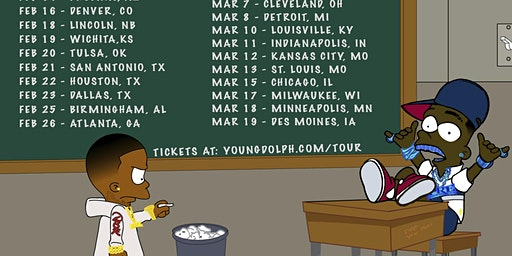 Young Dolph and Key Glock : No Rules Tour