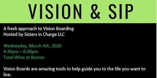 Vision & Sip – Vision Board Workshop