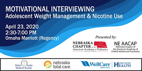 Motivational Interviewing: Adolescent Weight Management and Nicotine Use tickets
