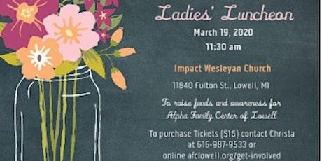 Ladies' Luncheon 2020 tickets