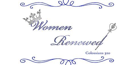 Women Renewed Weekend 2020 tickets