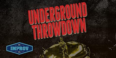 Underground Throwdown tickets