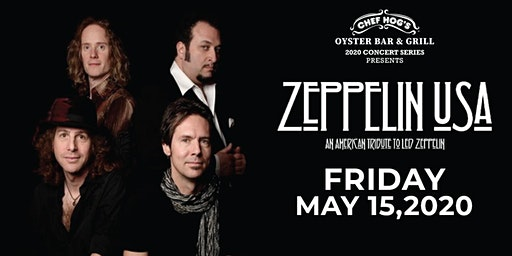 Zeppelin USA live at Chef Hog Oyster Bar and Grill