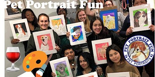 Paint and Sip -Pet Portrait Fun -O'Flanagan's Bar- NEW YORK