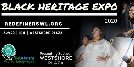 2020 Black Heritage Expo tickets