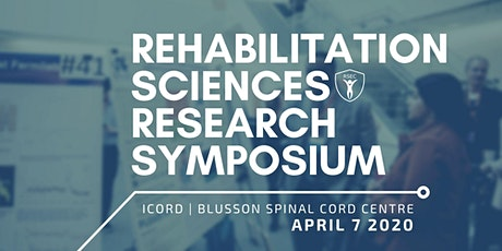 CANCELLED UNTIL FURTHER NOTICE - Rehabilitation Sciences Research Symposium tickets