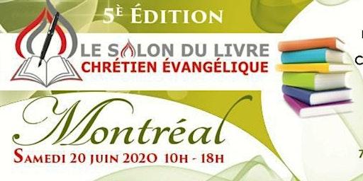 5e Édition- Salon Du Livre Chrétien Évangélique