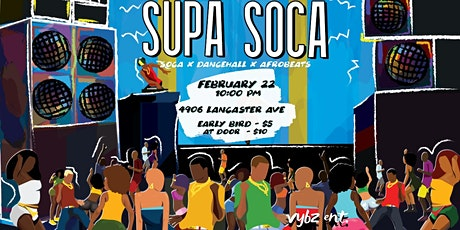 SUPA SOCA tickets