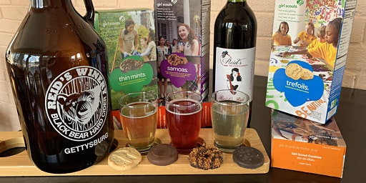Girl Scout Cookie Wine & Cider Pairing