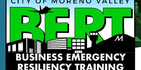 Business Emergency Resiliency Training BERT tickets