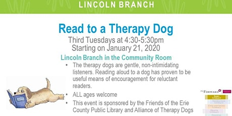 Read to a Therapy Dog (LIN) tickets