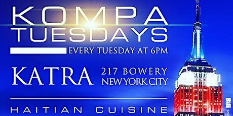 Kompa Tuesdays at Katra Lounge  tickets