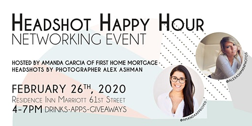 Headshot Happy Hour! - Networking Event