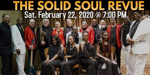 Black History Month: Bay Shore Brightwaters Public Library proudly presents: The Solid Soul Revue