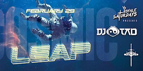 Royale Saturdays: Cosmic Leap tickets
