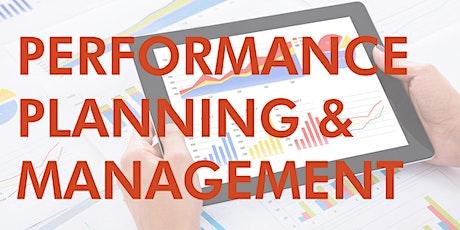 Performance Planning & Management tickets