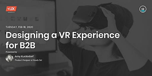 Designing a VR Experience for B2B