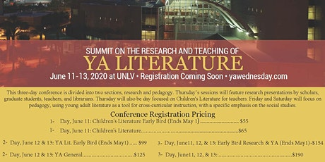 Summit on the Pedagogy for Young Adult Literature tickets