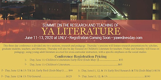 Summit on the Pedagogy for Young Adult Literature