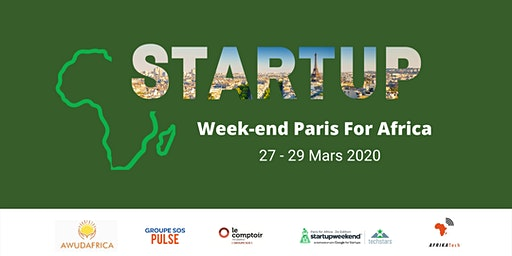Startup Weekend Paris for Africa - 3ème Edition